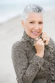 short hairstyles for seniors with grey hair very short hairstyles for older women to keep you young at heart