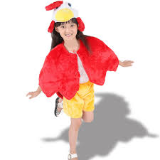 Rooster Halloween Costume Dress Vintage Picture Detailed Picture Girls Cosplay