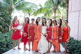 bridesmaid dresses beach