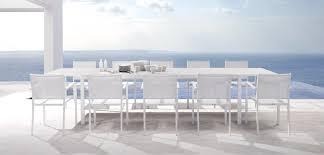White Outdoor Dining Chairs White Outdoor Dining Table House Plans And More House Design