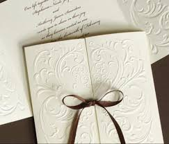 wedding invitations embossed 10 wonderful diy wedding invitations diy experience