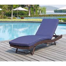 outdoor chaise lounge chair patio pool deck folding lounger