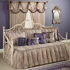 Fitted Daybed Cover Baroness Daybed Bedding Set Daybed Daybed Sets And Dark Beige