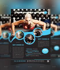 fitness flyer template fitness flyer template by graphiccenter2 graphicriver