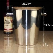 porte seau a champagne sur pied aliexpress com acheter seau à glace en acier inoxydable fûts bar