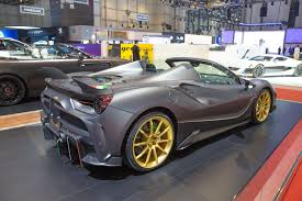 ferrari 488 modified german tuner mansory launches ferrari 488 based 4xx siracusa