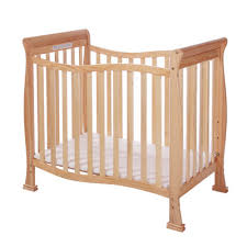 dream on me aden mini convertible crib finish natural 628 n