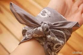 bandana wristband diy tutorial diy bracelet diy make a bandana bracelet bead cord