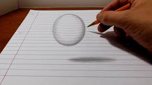 simple pencil 3d images simple pencil 3d drawings for beginners