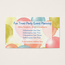 Event Business Cards Event Planning Business Cards U0026 Templates Zazzle