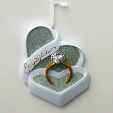 engagement ring personalized ornament country marketplace