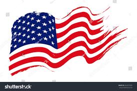 Flag Day Usa American Flag United States America Usa Stock Vector 664532392