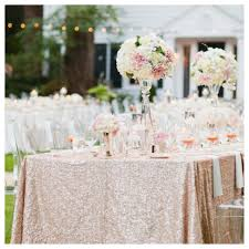 wedding table linens for sale sale 8ft chagne sequin cloth sequin tablecloth la travola