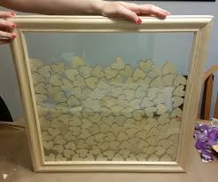 how to make a guest book picture frame 7 steps with pictures