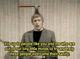 Monty Python Meme - overcome sanity monty python know your meme