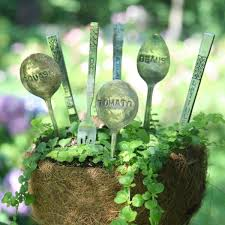 Vegetable Garden Labels by 42 Best Garden Stakes U0026 Markers Images On Pinterest Garden