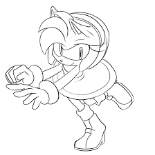 colour me amy rose by un genesis on deviantart
