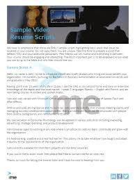 Example Of Video Resume Script by Video Resume Script Example Best Free Resume Collection