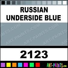 russian underside blue model master acrylic paints 2123