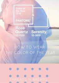 pantone color of the year rose quarts u0026 serenity threads n