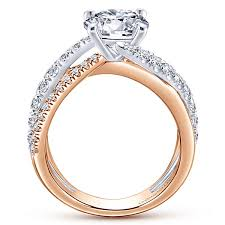 wedding rings free form engagement rings gabriel co