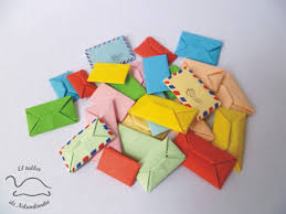How To Fold Envelope Mini Origami Envelope Tutorial Origami Handmade