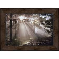 shop wall art at lowes com 43 5 in w x 31 5 in h framed landscapes print wall art