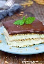 eclair cake spend with pennies