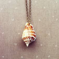 necklace pendant shell images Seashell necklace real shell nautical jewelry mermaid real jpg