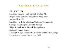 Resume Education Section Cv Writing Tips Education