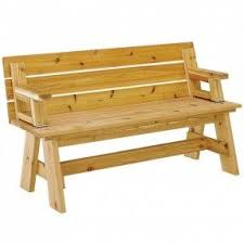 Picnic Table Plans Free Separate Benches by Picnic Benches Foter