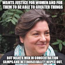 Julie Meme - meme julie bindel a feminist and a nazi by wolfblade111 on