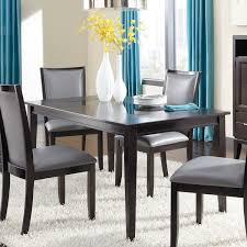 espresso dining room set signature design by trishelle espresso dining room table