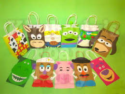 11 toy story party bags