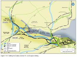 Stirling Scotland Map Transport Scotland