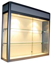 Glass Display Cabinet Perth Artisan Products Wall Mounted Display Cabinets