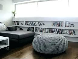 Cushion Ottoman Fancy Wicker Ottoman Cushion Taptotrip Me