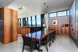 Lake Terrace Dining Room Live And Work Luxuriously In This Top Floor Tom Kundig Penthouse