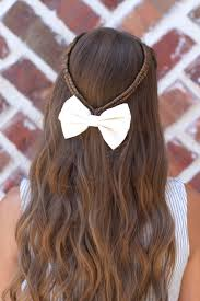 Stylish Hairstyles For Girls by Infinity Braid Tieback Back To Hairstyles Cute Girls