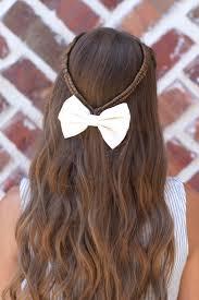 infinity braid tieback back hairstyles cute girls