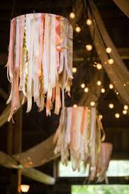 Colourful Ribbon Canopy Wedding Reception by Rustic Summer Wedding In The South Of France Black Books France