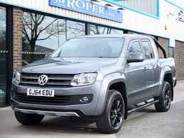 volkswagen truck diesel second hand volkswagen amarok d cab pick up dark label 2 0 bitdi