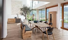 Esszimmer Stuhl Leder Da Sitzt Man Gut Massivholzstühle Von Voglauer Planungswelten