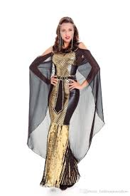 Roman Goddess Halloween Costume Women Gorgeous Egyptian Princess Queen Dress Halloween Cosplay