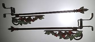 Vintage Curtain Rod Antique Curtain Rods Collection On Ebay