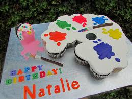 Paint Pallet by Paint Palette Pull Apart Cake 21 Cupcake Pull Apart Cake F U2026 Flickr