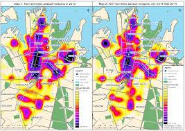 Crime Mapping Com Assault Hotspots In Sydney Cbd