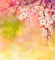 huayi watercolor peach blossom photography background backdrop