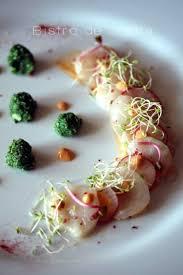 cuisiner le corail de jacques recette de noix de jacques en carpaccio corail crémé radis