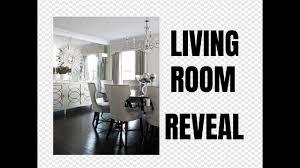 Small Livingroom Decor Small Living Room Decor U0026 Reveal How To Easily Hang Heavy